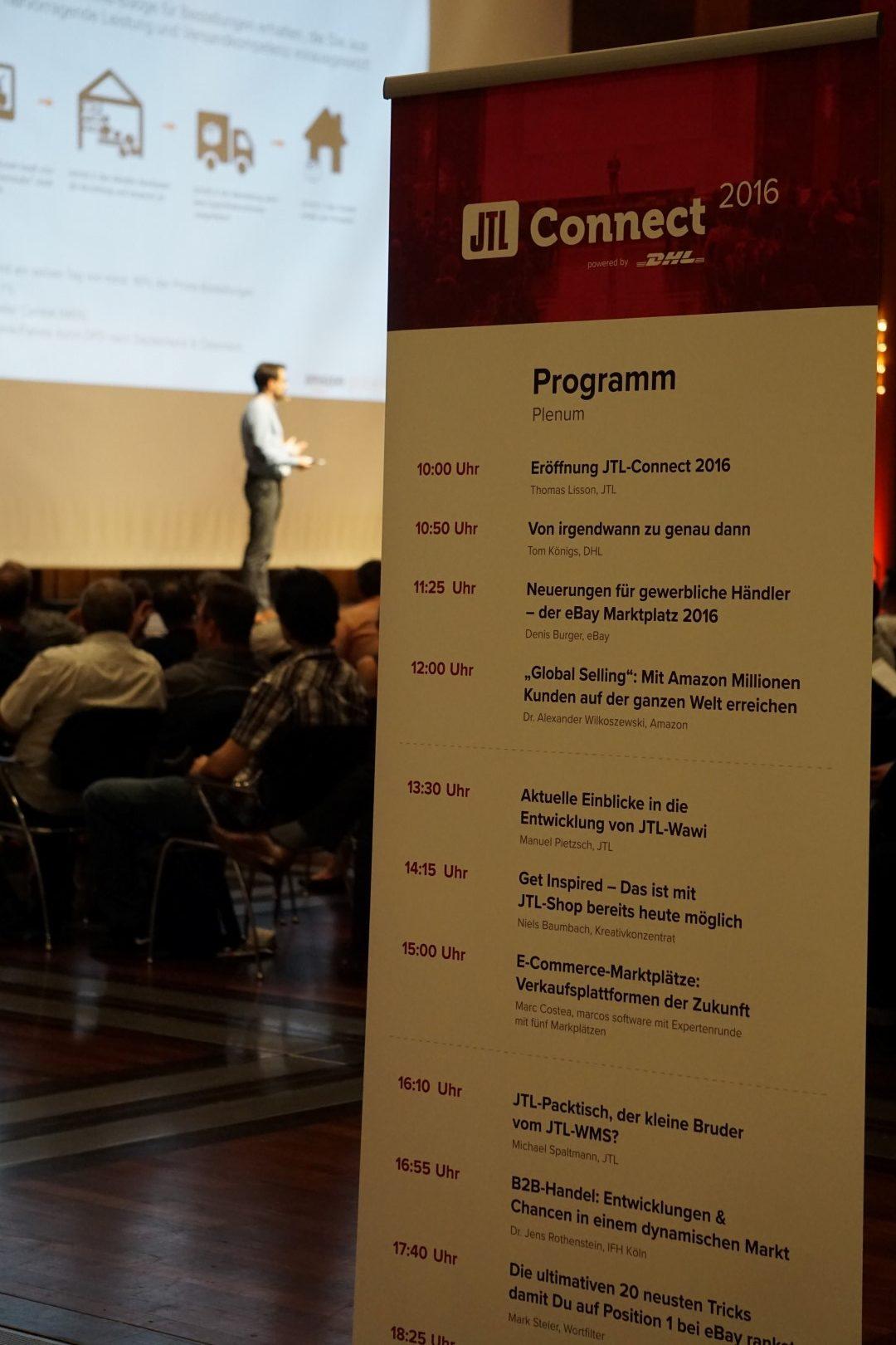 jtl connect 2016 agenda und programm